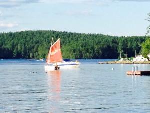 Zezar Lake, Lovell Maine