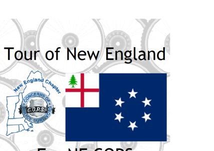 Tour of New England for NE COPS